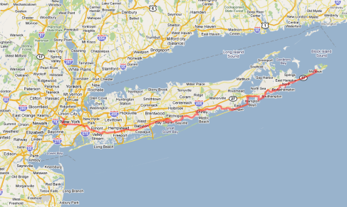 NYC to Montauk